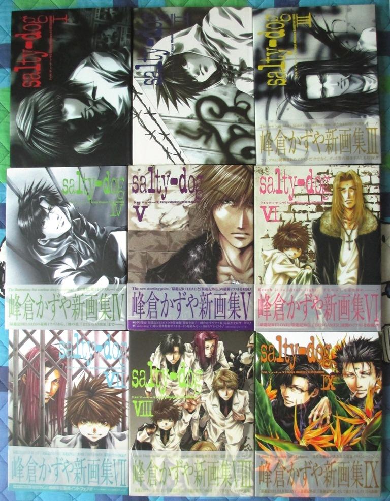 artbook wild_adapter ichijinsha gensou_maden_saiyuki studio_dna minekura_kazuya saiyuki_gaiden saiyuki_reload bus_gamer hachi_no_su saiyuki_reload_blast saiyuki_ibun hard_cover