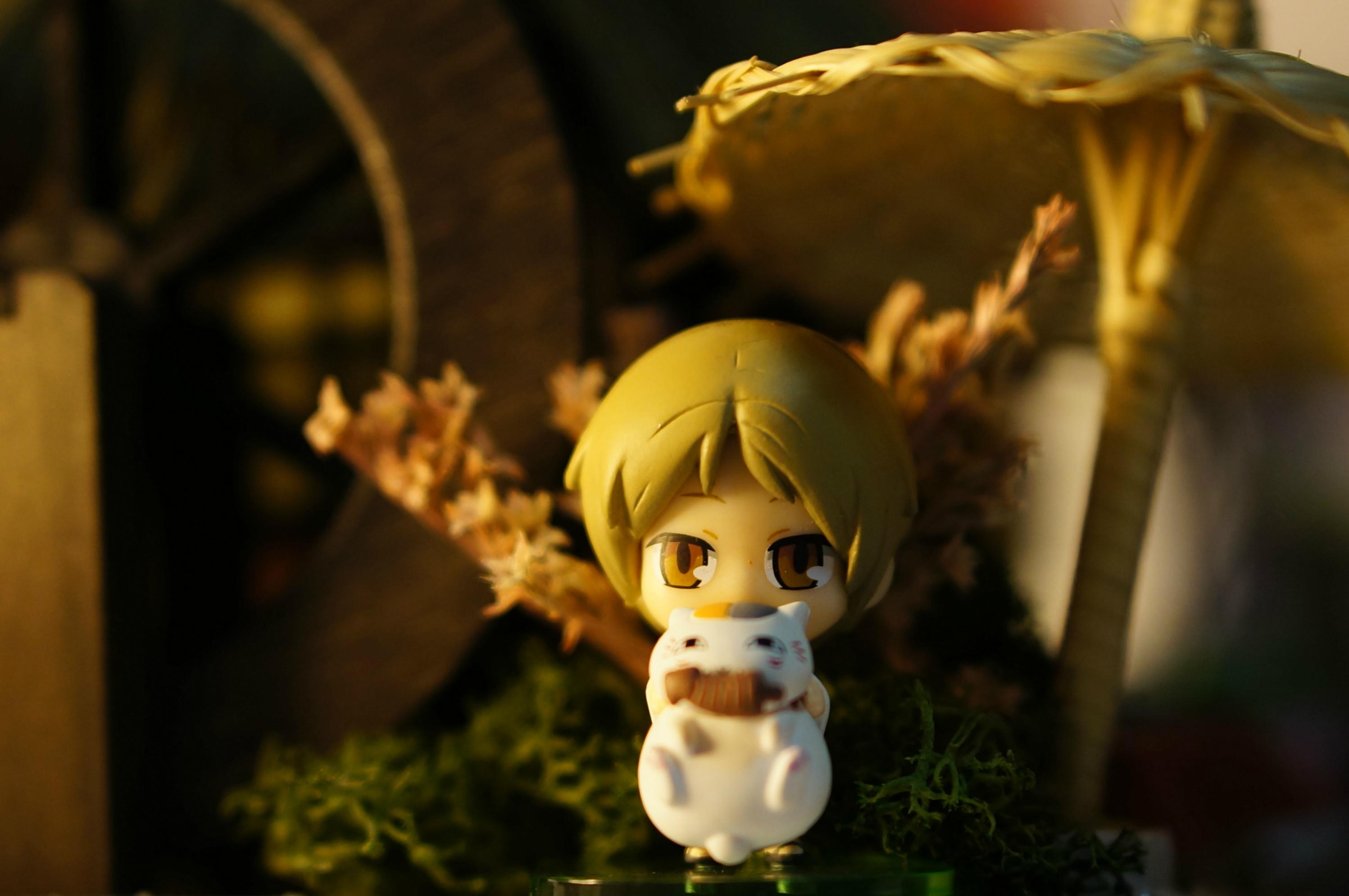 megahouse natsume_yuujinchou natsume_takashi madara_(nyanko-sensei) petit_chara_land hakusensha midorikawa_yuki petit_chara_land_natsume_yuujinchou_four_seasons