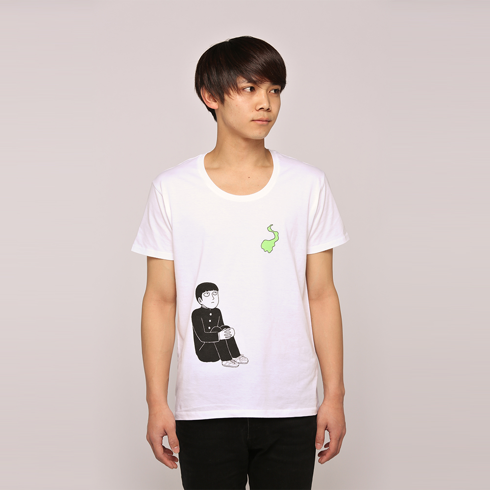 t-shirt one shogakukan mob_psycho_100 kageyama_shigeo