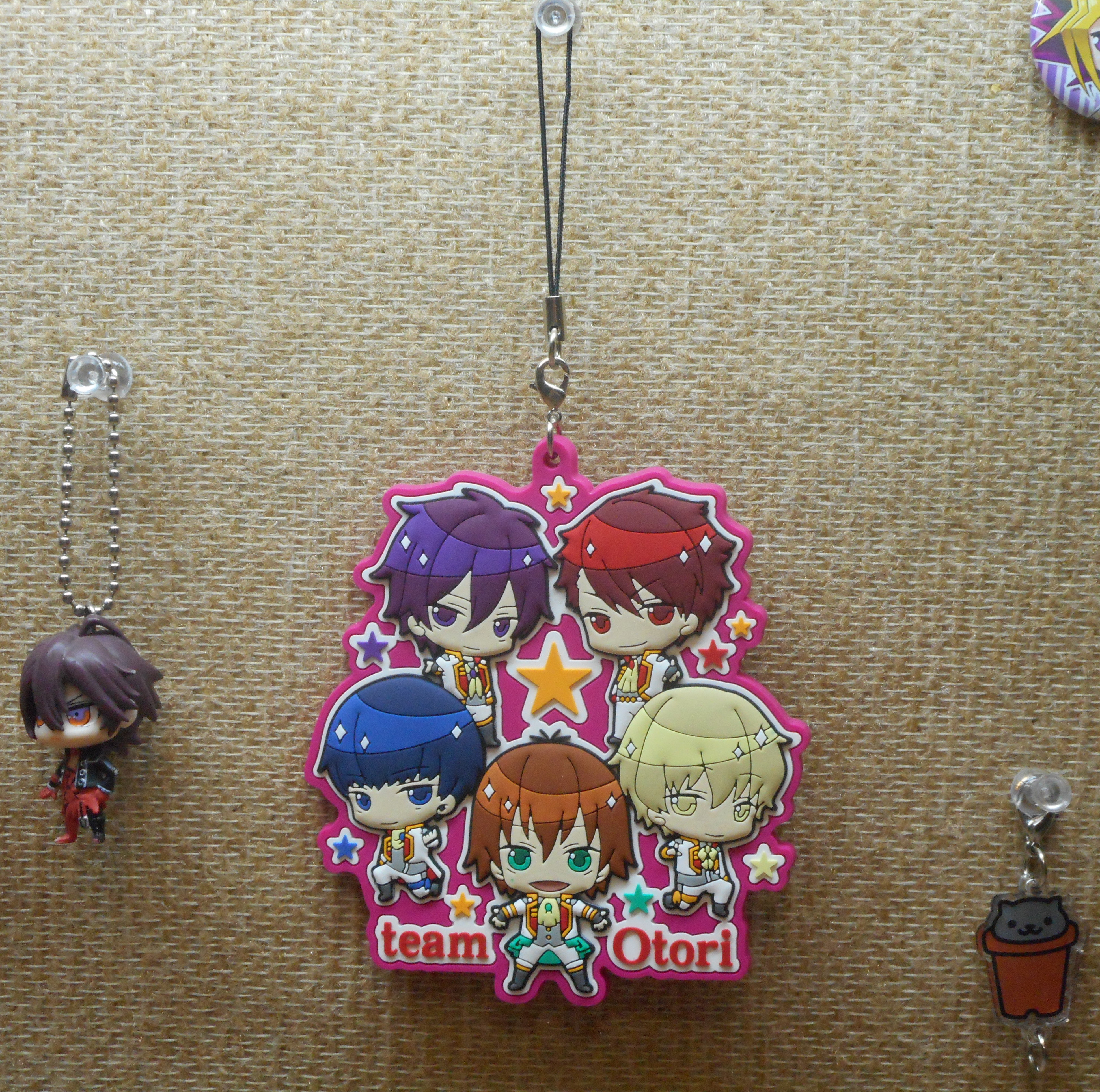 strap shin kadokawa rubber_strap takara_tomy_a.r.t.s amnesia deformed_mini deformed_mini_amnesia acrylic_charm high_school_star_musical neko_atsume joint_acrylic_collection_-joi_colle- neko_atsume_joint_acrylic_collection_part_2 haiiro-san hoshitani_yuuta tooru_nayuki tsukigami_kaito tengenji_kakeru i0plus kuga_shuu