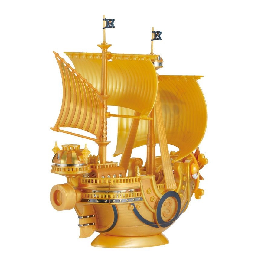 bandai thousand_sunny oda_eiichiro one_piece_grand_ship_collection one_piece_film_gold
