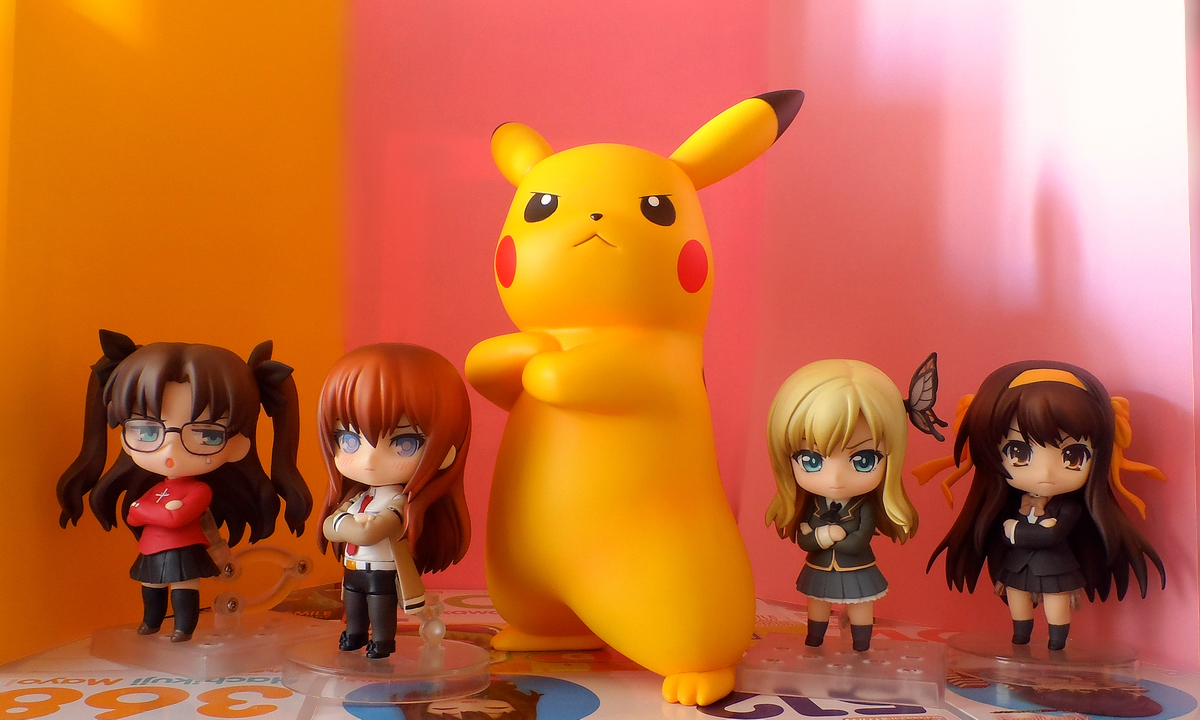 nintendo huke pikachu nendoroid type_moon good_smile_company banpresto tohsaka_rin suzumiya_haruhi fate/stay_night steins;gate ichiban_kuji makise_kurisu suzumiya_haruhi_no_shoushitsu nendoron ageta_yukiwo maruhige boku_wa_tomodachi_ga_sukunai kashiwazaki_sena game_freak creatures_inc. katahara_itashi pokkén_tournament ichiban_kuji_pokkén_tournament bandai_namco_entertainment_inc.