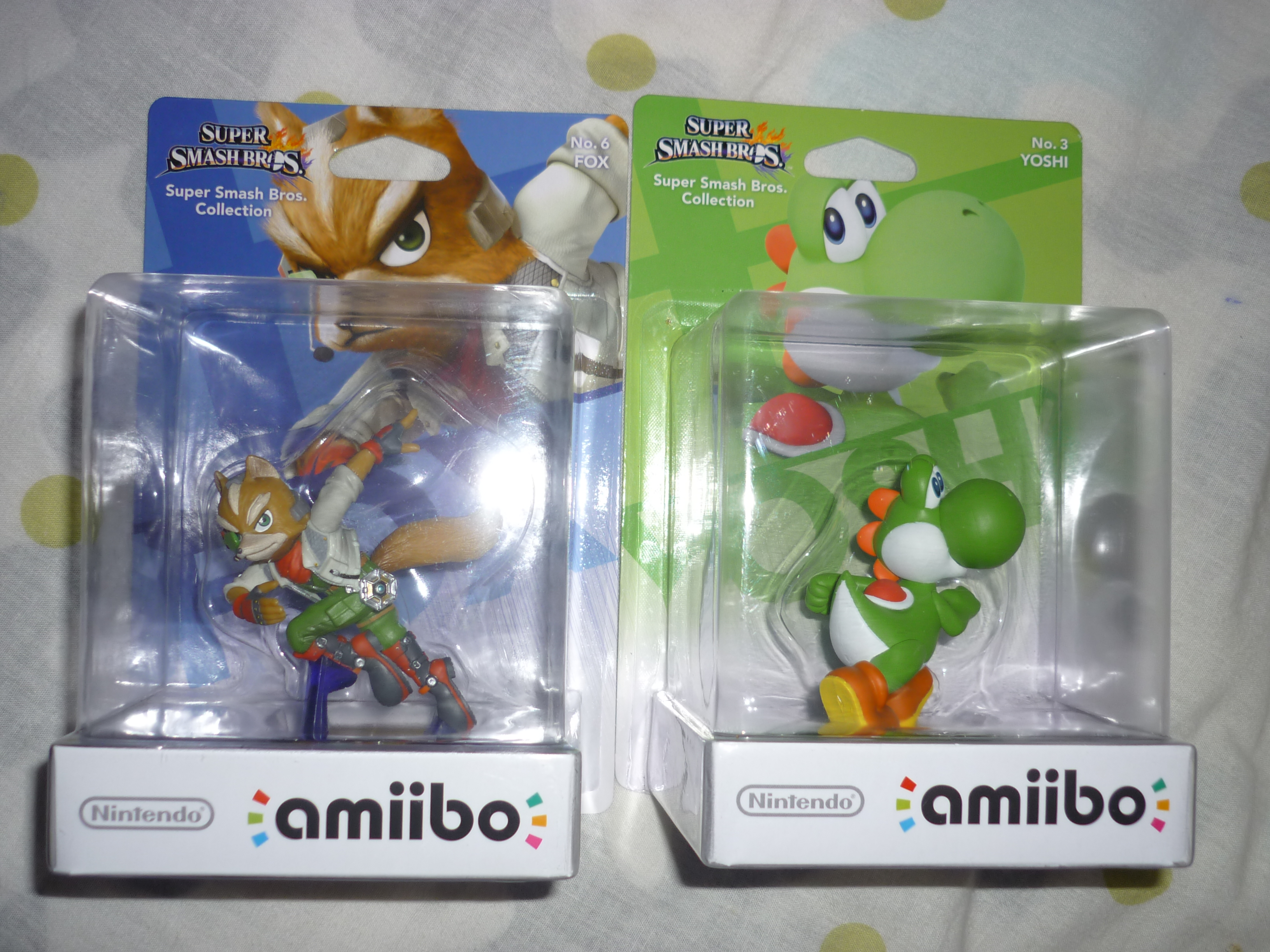 nintendo yoshi fox_mccloud dairantou_smash_bros._for_wii_u amiibo amiibo_dairantou_smash_bros._series