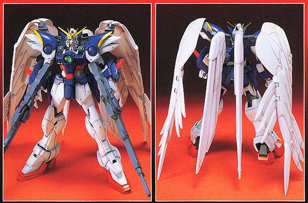 bandai xxxg-00w0_wing_gundam_zero_custom shin_kidou_senki_gundam_wing_endless_waltz 1/100_hg_endless_waltz_model_series