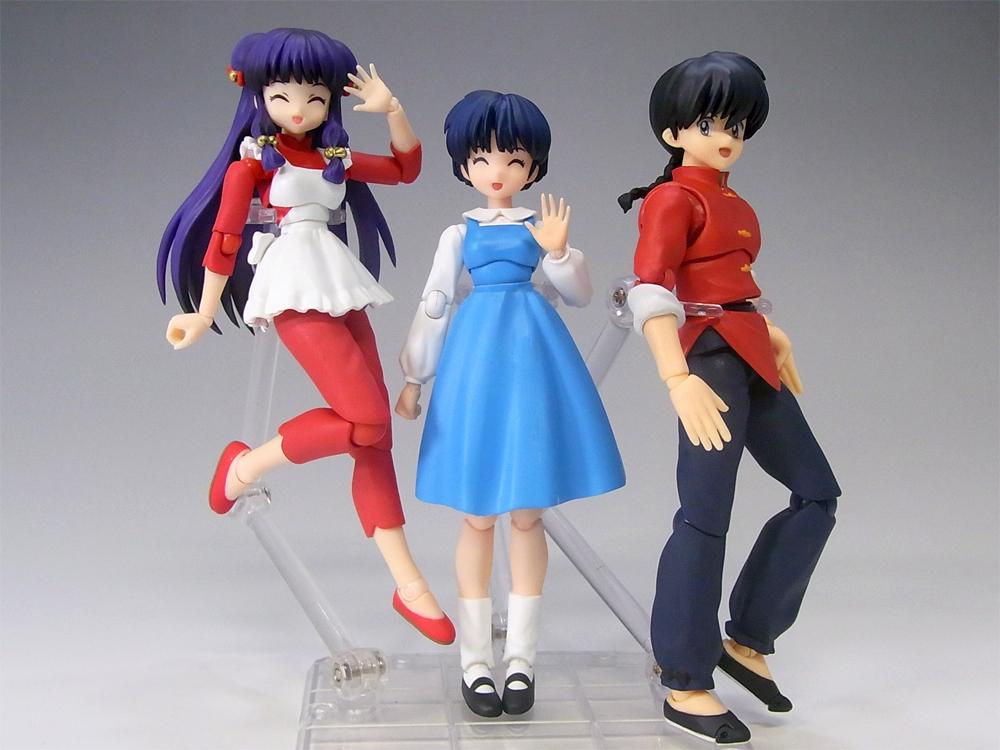 takahashi_rumiko bandai p-chan tendou_akane s.h.figuarts ranma_1/2 shampoo shogakukan saotome_ranma tamashii_stage
