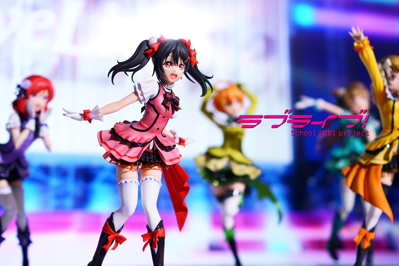 dengeki ascii_media_works love_live!_school_idol_project yazawa_nico stronger akisame birthday_figure_project
