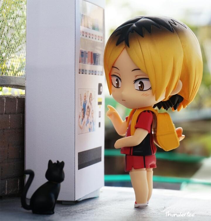 nendoroid shueisha nendoron shichibee furudate_haruichi kozume_kenma orange_rouge haikyuu!!_second_season