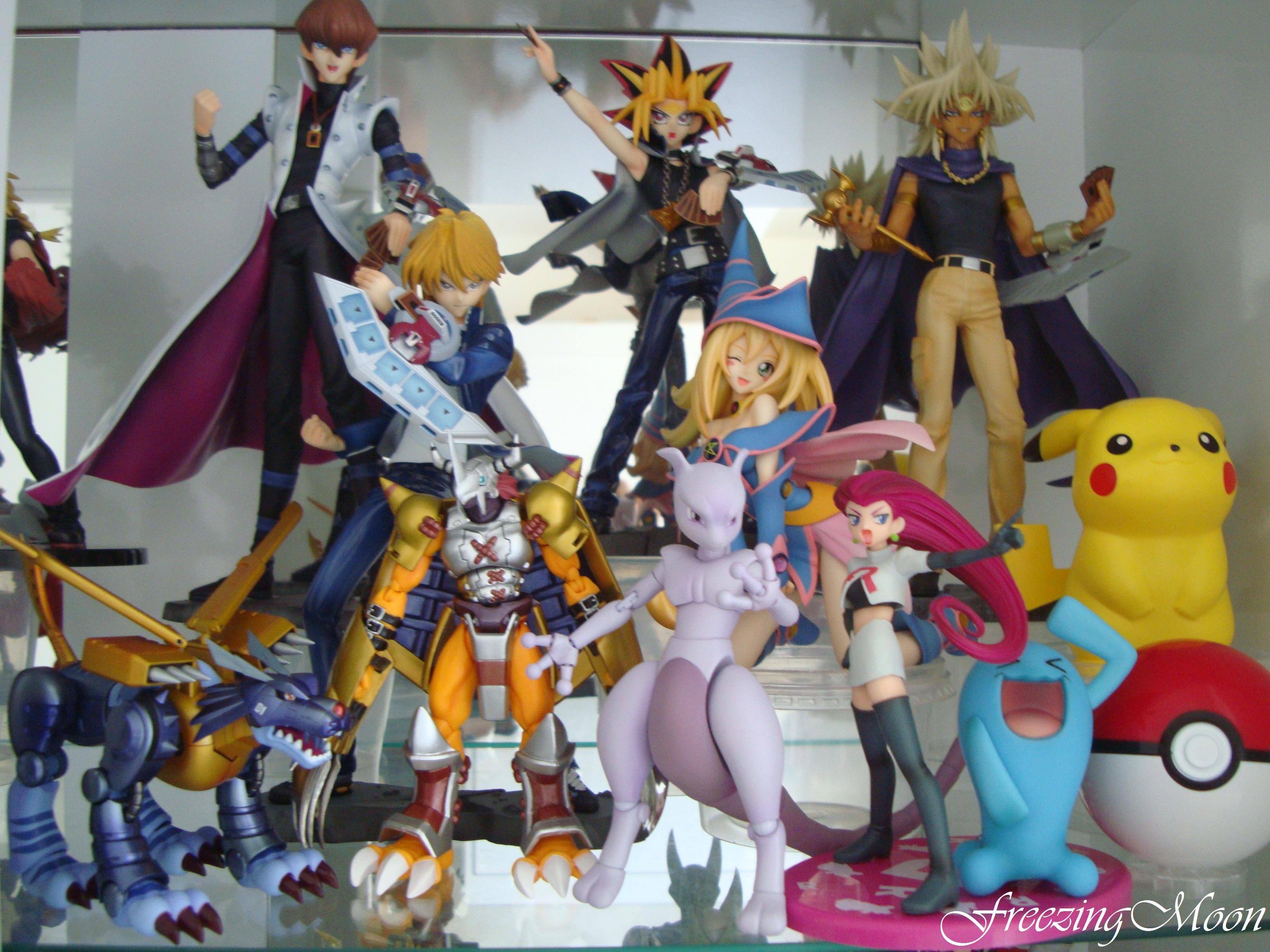 kotobukiya megahouse nintendo pikachu pocket_monsters bandai musashi digimon_adventure black_magician_girl shueisha d-arts wargreymon s.h.figuarts shirahige_tsukuru g.e.m. attm kaiba_seto toei_animation yami_yuugi jounouchi_katsuya hongou_akiyoshi sagae_hiroshi takahashi_kazuki yu-gi-oh!_duel_monsters artfx_j metalgarurumon game_freak mewtwo mcdonald's creatures_inc. sonans nihon_ad_systems pinpoint yami_marik