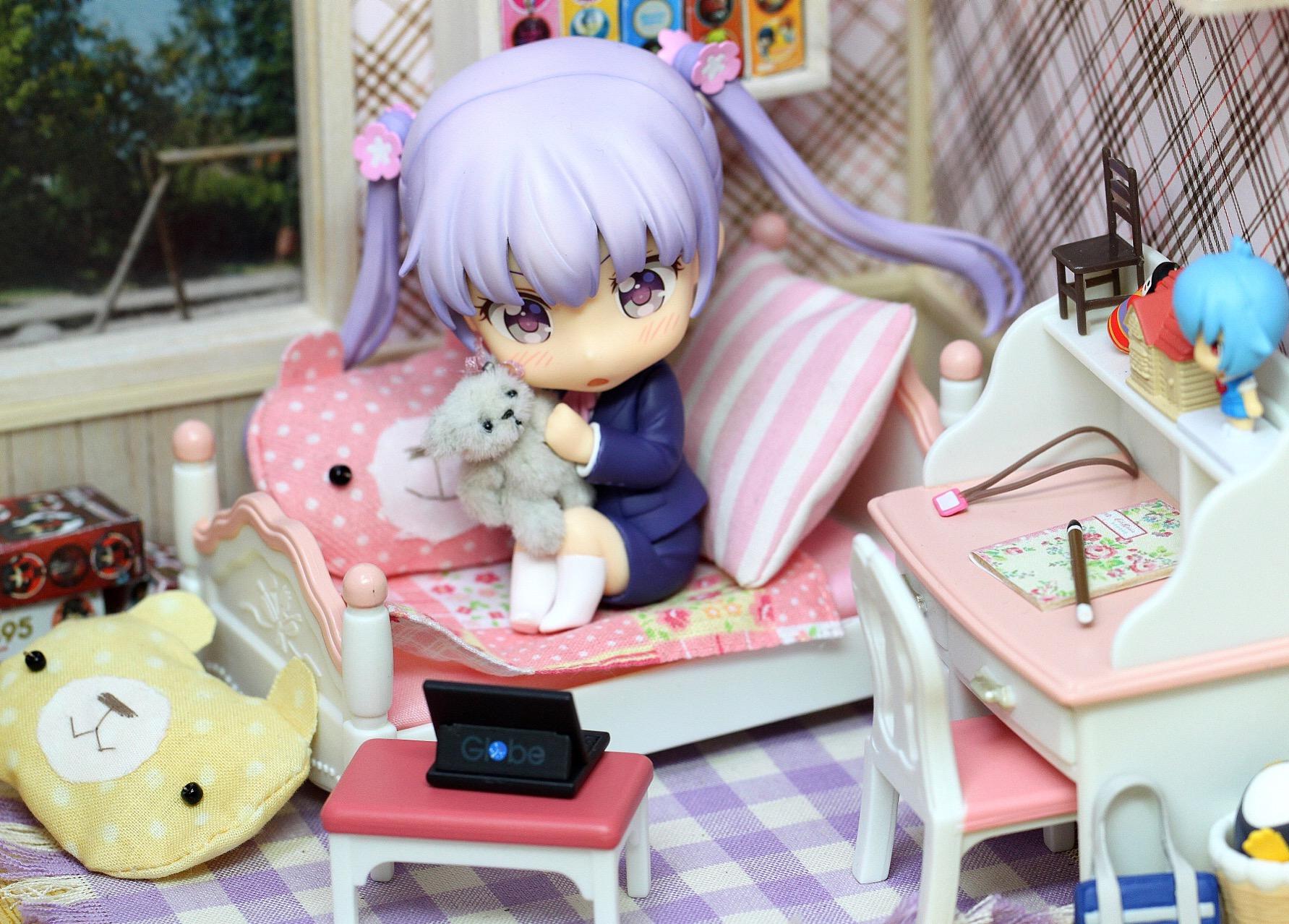 nendoroid good_smile_company nendoron houbunsha tokunou_shoutarou katahara_itashi new_game! suzukaze_aoba