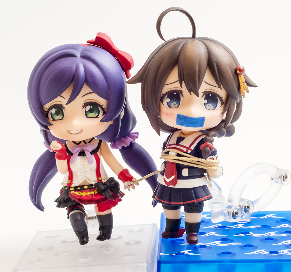 nendoroid good_smile_company shigure nendoron jun_(e.v.) love_live!_school_idol_project toujou_nozomi kantai_collection_~kan_colle~ dmm.com kadokawa_games kirukiru