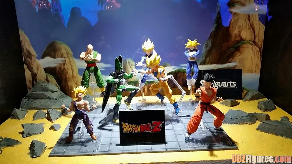 bandai dragon_ball_kai dragon_ball_z shueisha s.h.figuarts yamcha son_goku_ssj future_trunks tenshinhan son_gohan_ssj toei_animation future_trunks_ssj vegeta_ssj perfect_cell son_gohan_ssj2 bird_studio