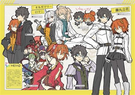 type_moon doujinshi wadamemo wada_rco fate/grand_order comic_market_91