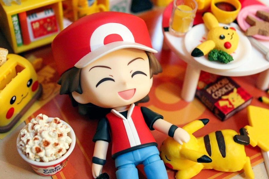red nintendo pikachu nendoroid pocket_monsters good_smile_company re-ment zenigame nendoron kima pokémon_center hitokage fushigidane candy_toy game_freak creatures_inc. welcome_to_pikachu_room!