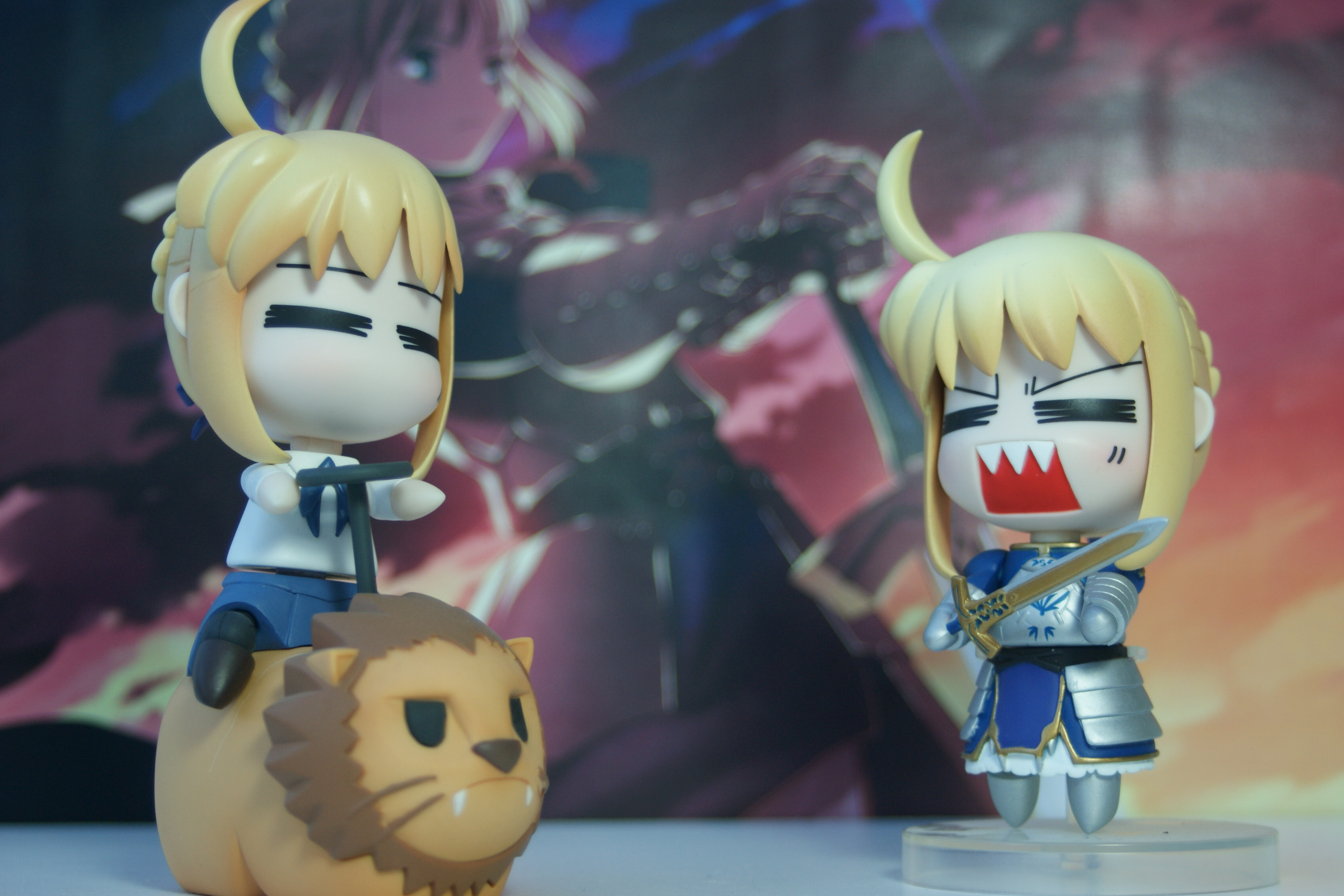 nendoroid type_moon good_smile_company fate/stay_night nendoron hetare_saber