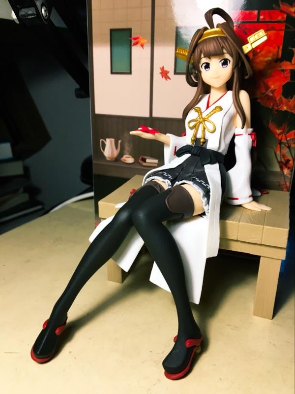 banpresto kantai_collection_~kan_colle~ kongou dmm.com kadokawa_games chinjufu_no_shiki