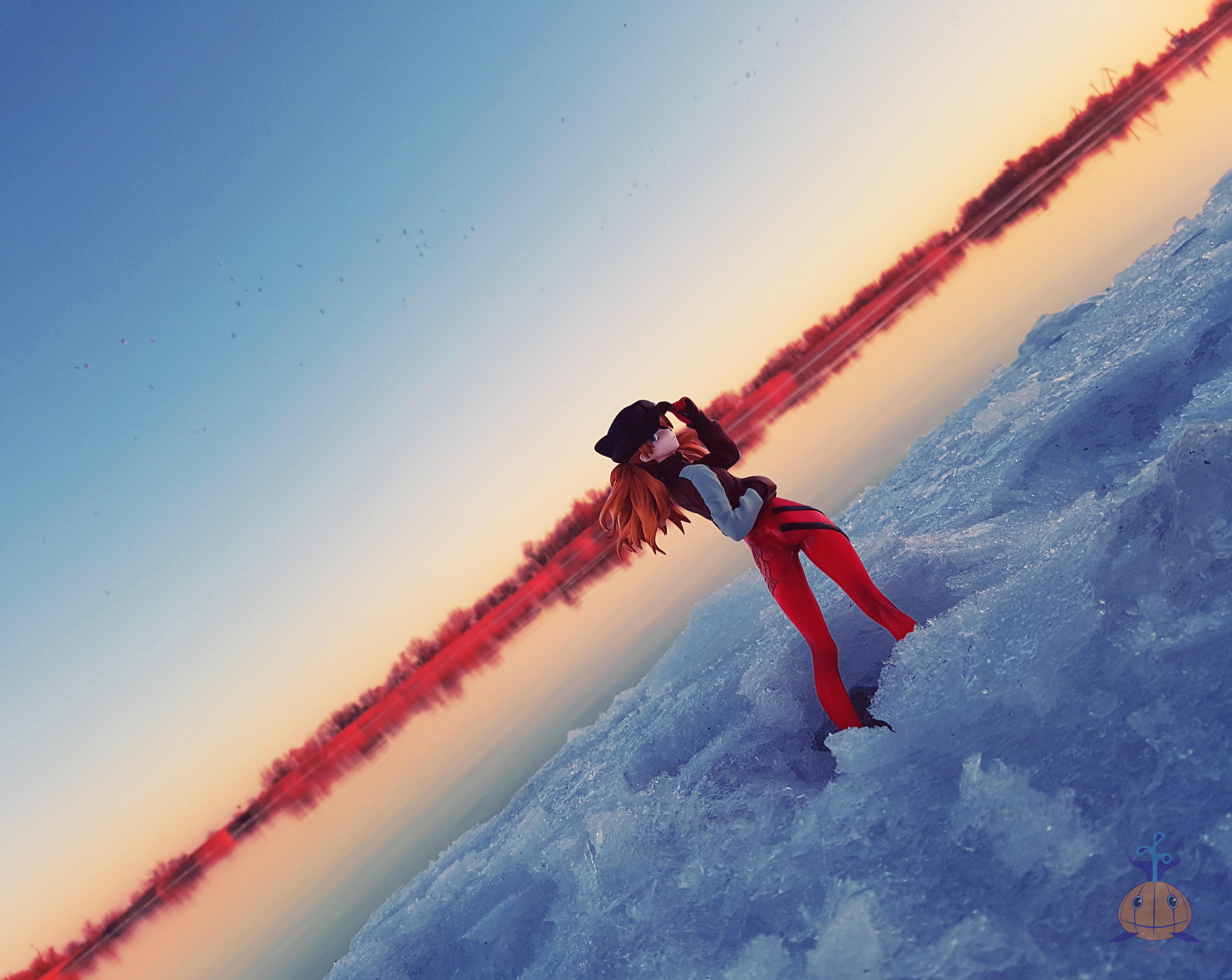 snow alter souryuu_asuka_langley river khara nobuta evangelion_shin_gekijouban:_q