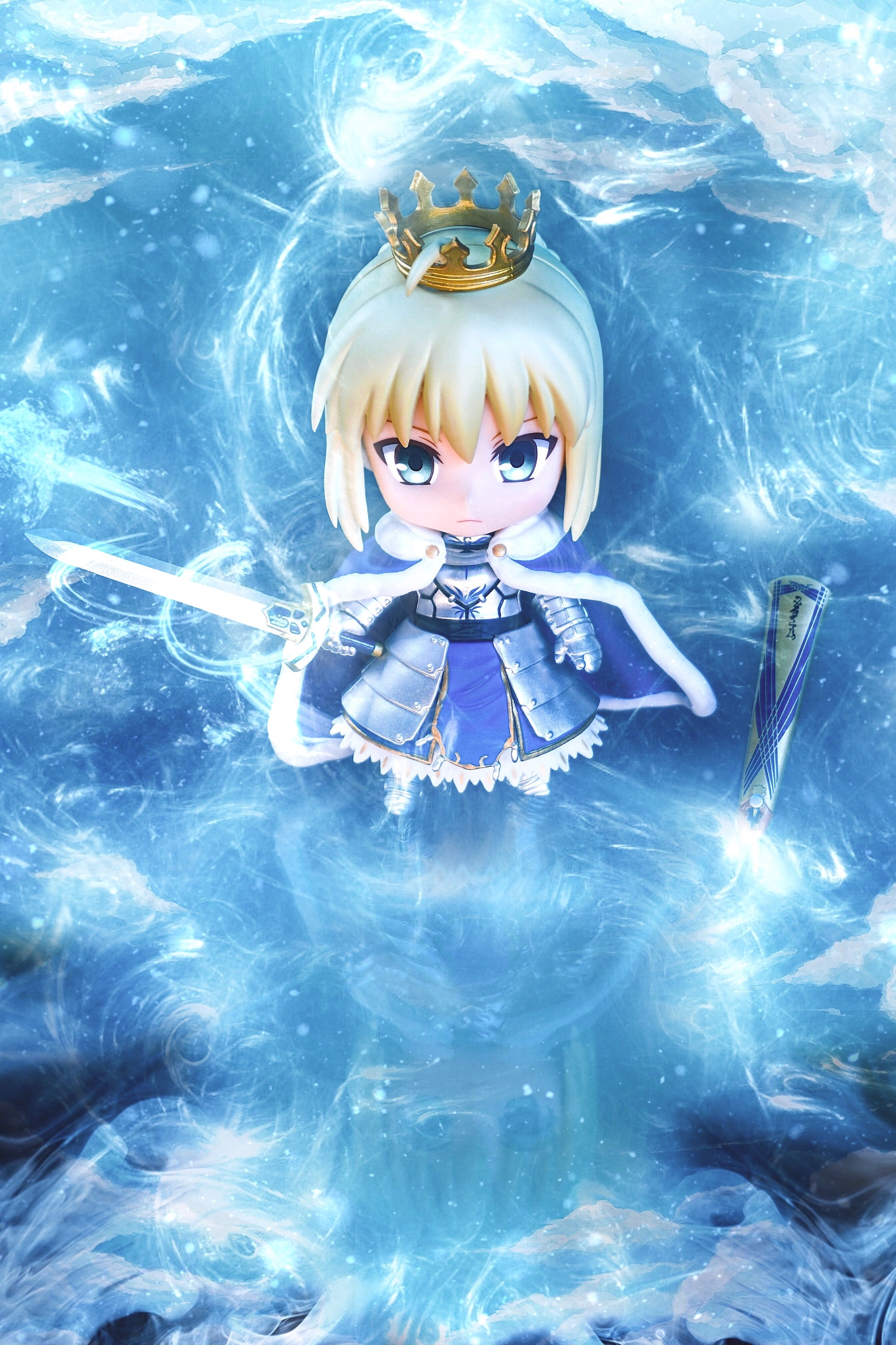 nendoroid saber type_moon good_smile_company nendoron fate/grand_order toytec_dtc wonder_festival_2016_[summer]