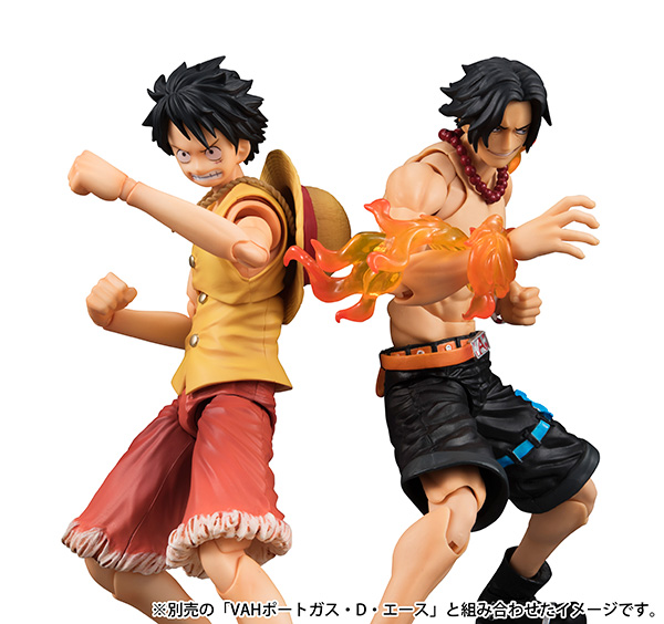 megahouse one_piece monkey_d._luffy portgas_d._ace shueisha oda_eiichiro toei_animation inc. fuji_television_network variable_action_heroes