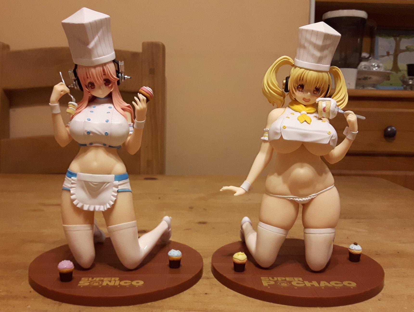 chara-ani shima sonico nitroplus toy's_works tsuji_santa super_pochaco sonicomi_(super_sonico)