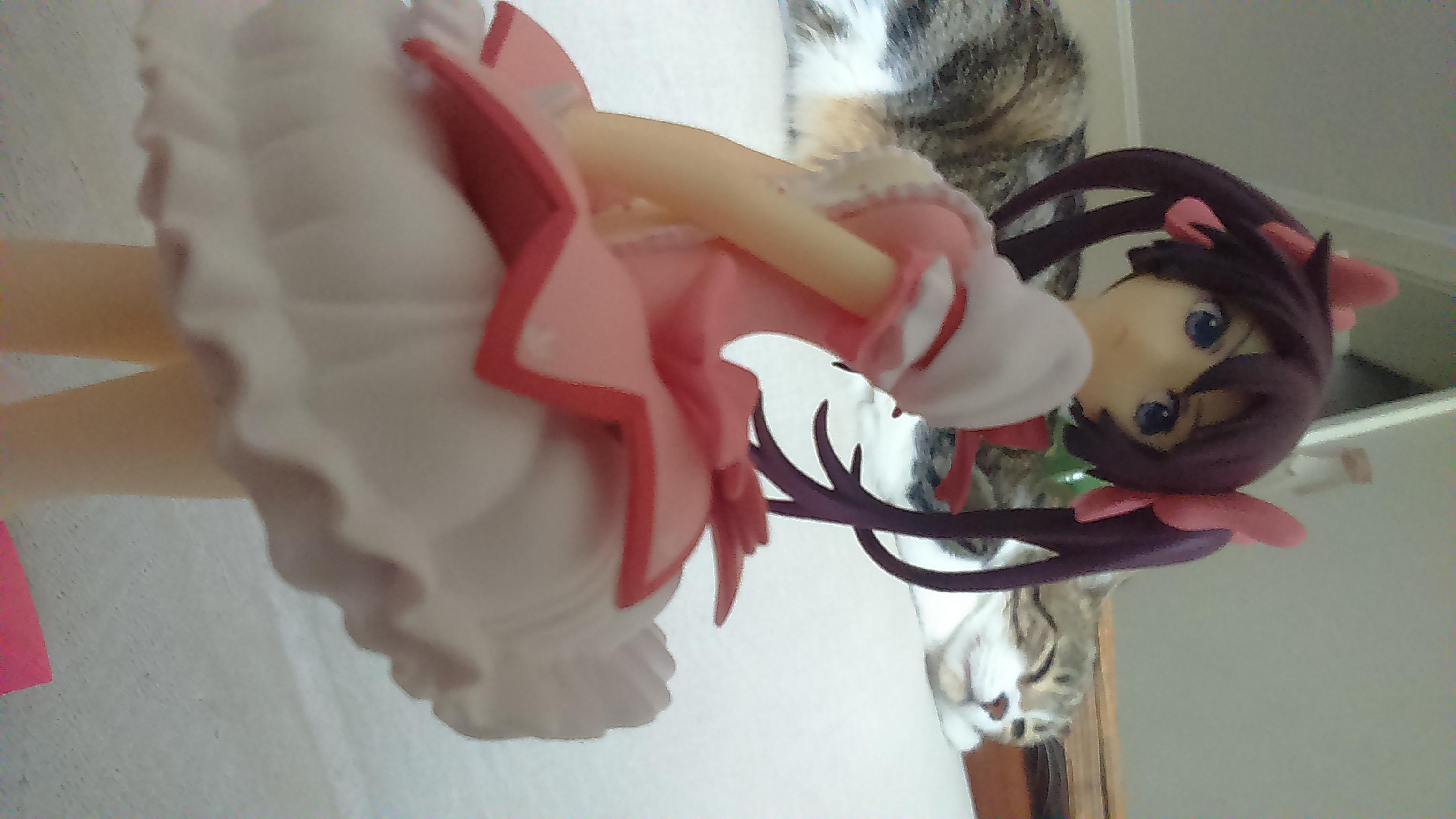 banpresto senjougahara_hitagi sq aoki_ume magica_quartet monogatari_series