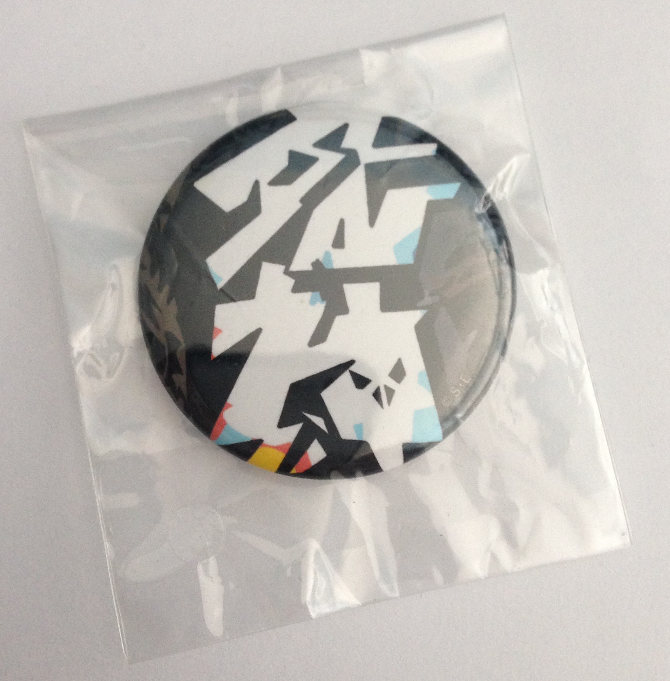 square_enix badge jupiter subarashiki_kono_sekai subarashiki_kono_sekai_pin_badge_collection_vol._1