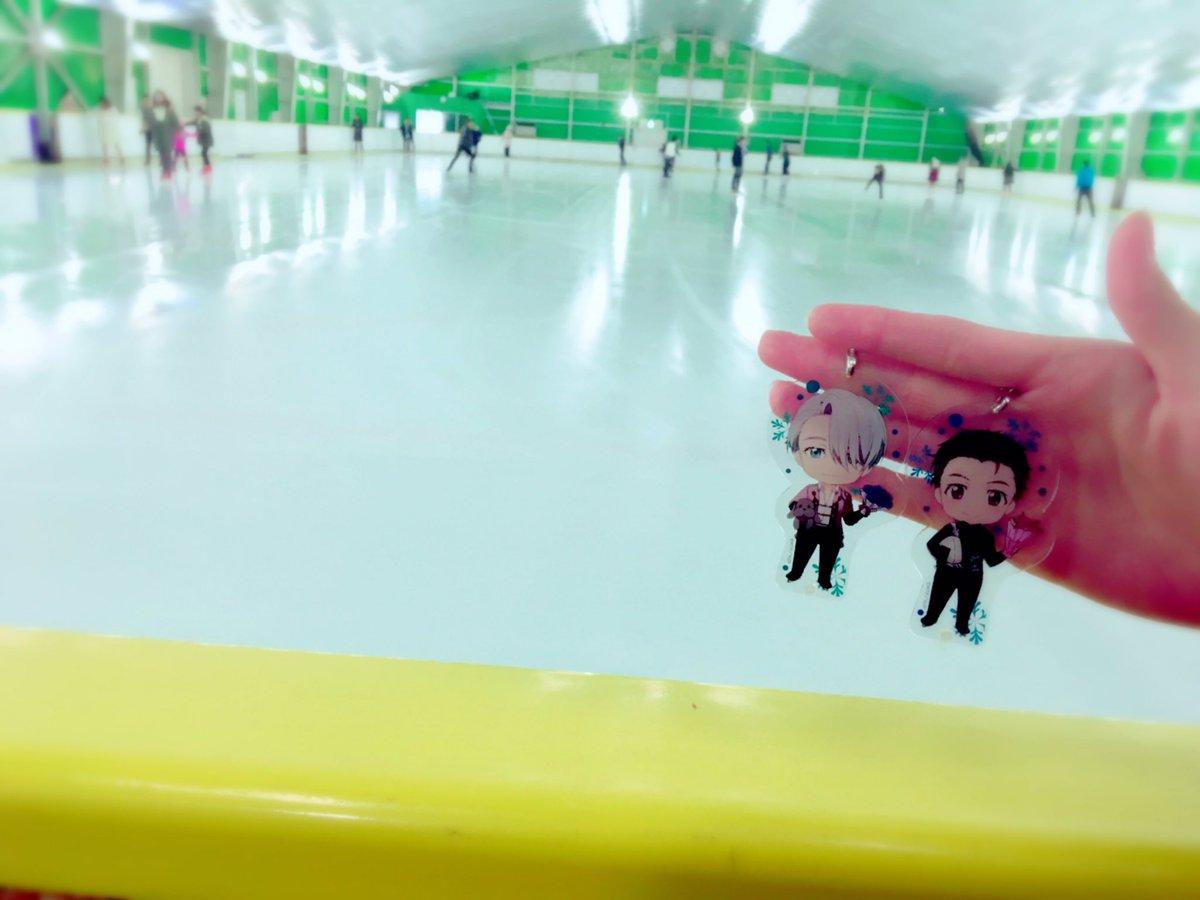 nendoroid_plus acrylic_keychain orange_rouge makkachin yuri!!!_on_ice katsuki_yuuri victor_nikiforov animejapan_2017 machi★asobi_vol.18 nendoroid_plus_dress_up_acrylic_key_ring