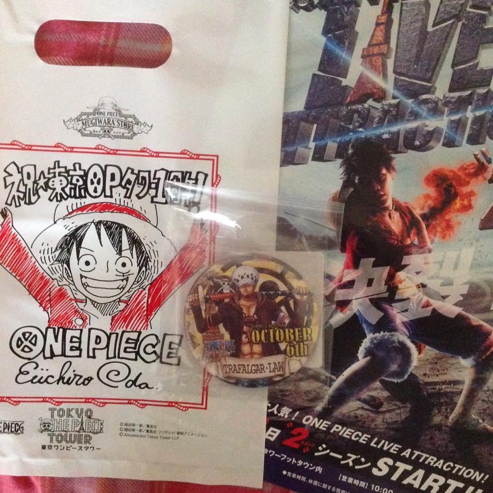 one_piece badge trafalgar_law oda_eiichiro toei_animation sunny_grove birthday_cans_badge_mugiwara_store_tokyo_tower_limited