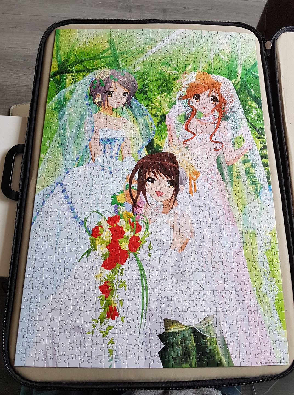 asahina_mikuru suzumiya_haruhi nagato_yuki suzumiya_haruhi_no_yuuutsu epoch kadokawa itou_noiji tanigawa_nagaru jigsaw_puzzle