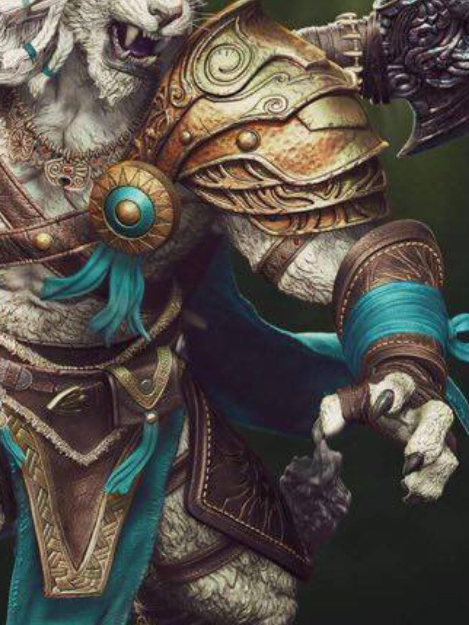 prime_1_studio magic:_the_gathering ajani