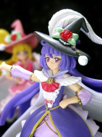 bandai precure toei_animation candy_toy bandai_shokugan mahou_tsukai_precure! cure_magical cure_miracle cutie_figure_+
