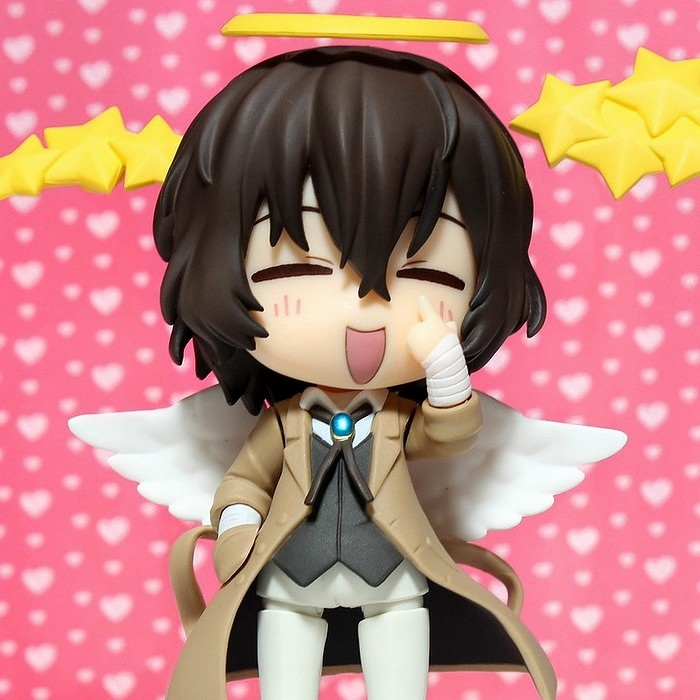 nendoroid good_smile_company nendoron dazai_osamu shichibee nendoroid_more nendoroid_more:_after_parts bungou_stray_dogs asagiri_kafuka orange_rouge harukawa_35
