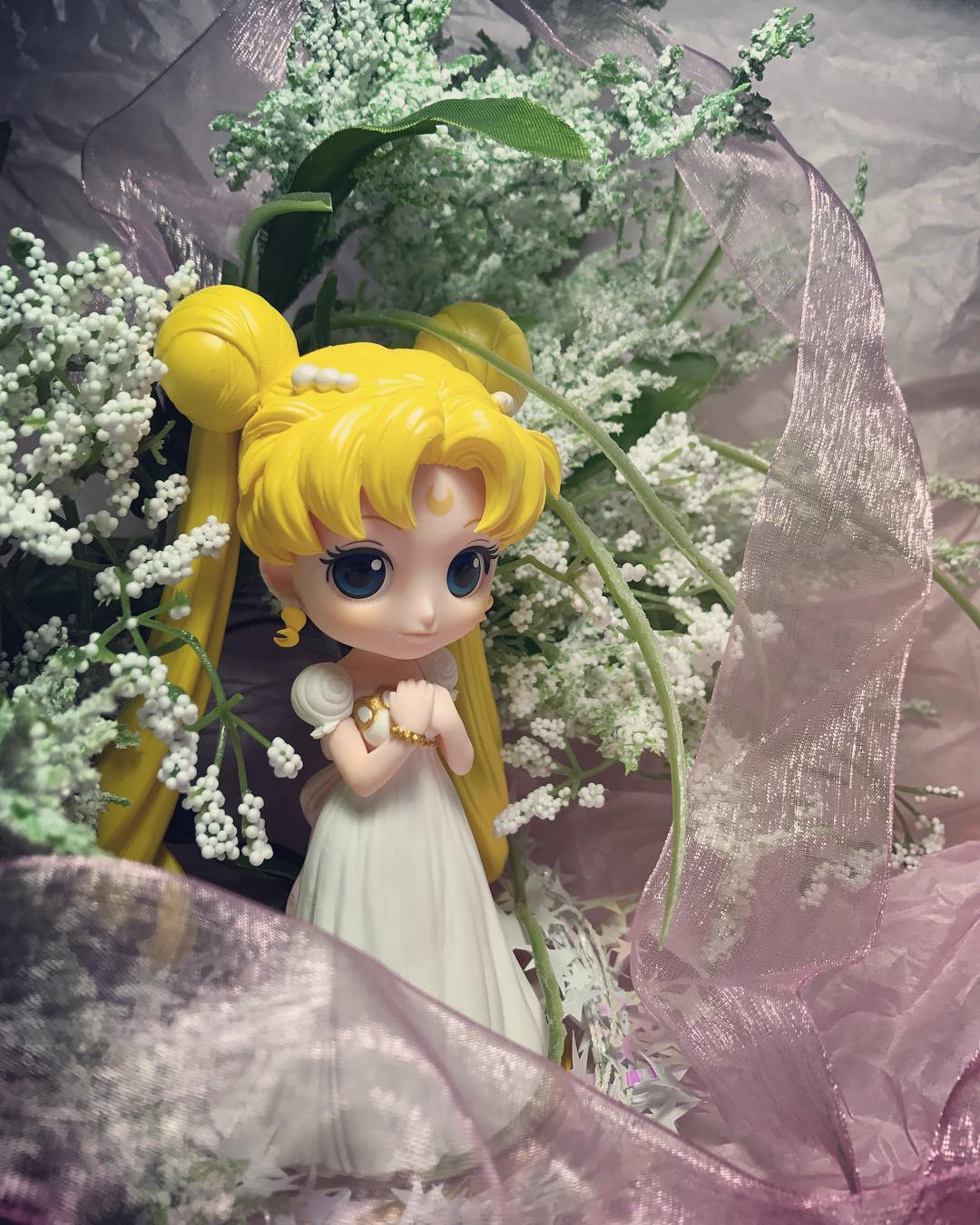 banpresto princess_serenity bishoujo_senshi_sailor_moon takeuchi_naoko girls_memories q_posket