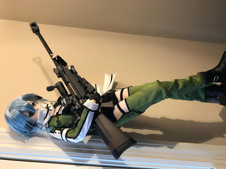 volks dollfie_dream kawahara_reki sinon sword_art_online_ii