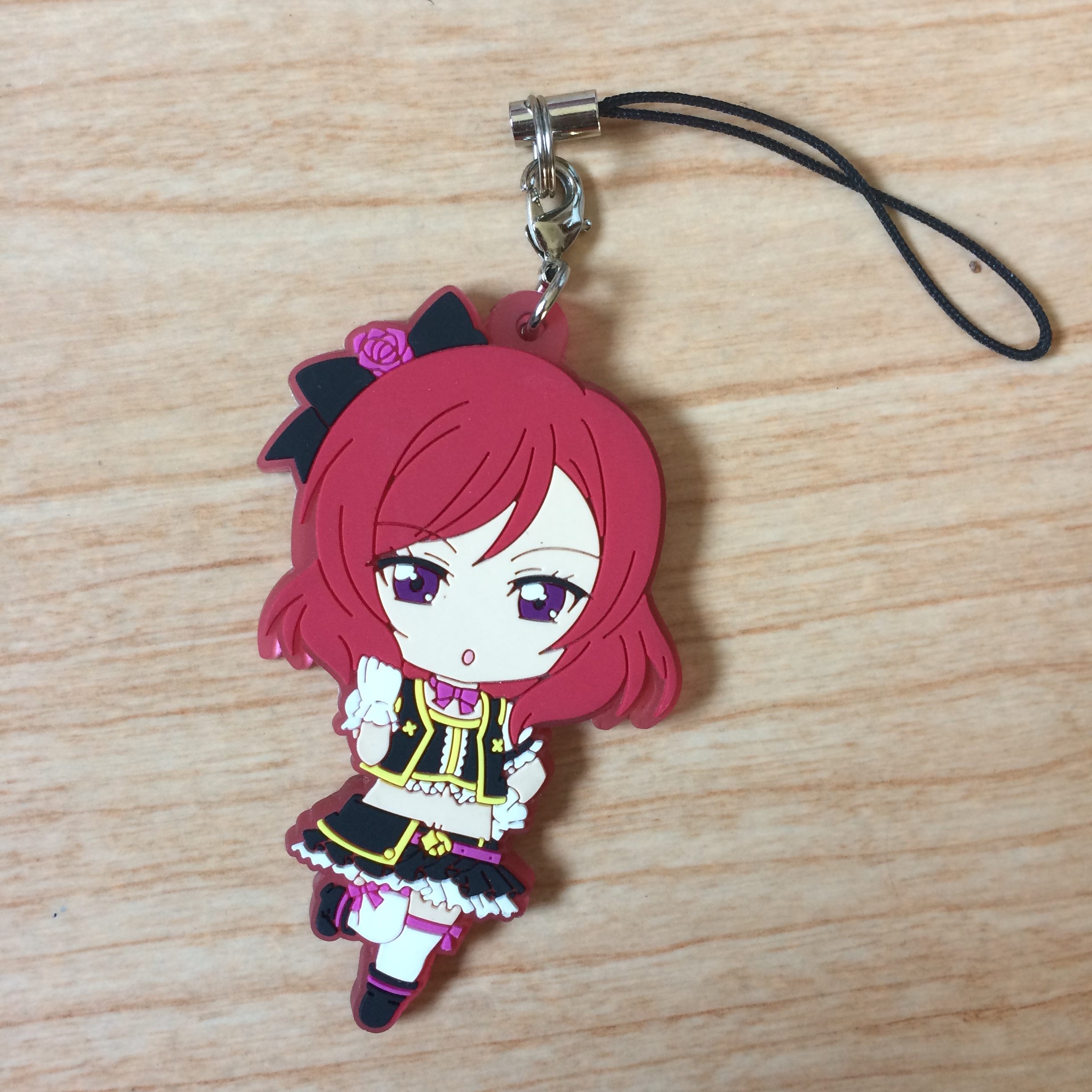 blind_box_figure trade rubber_keychain love_live!_school_idol_project cell_phone_charm nishikino_maki open_for_trades for_trade maki_nishikino