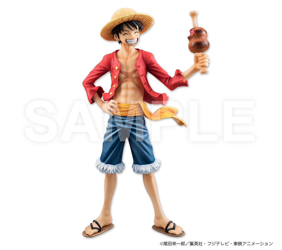 limited megahouse limited_edition one_piece monkey_d._luffy shueisha oda_eiichiro toei_animation portrait_of_pirates_limited_edition inc. fuji_television_network