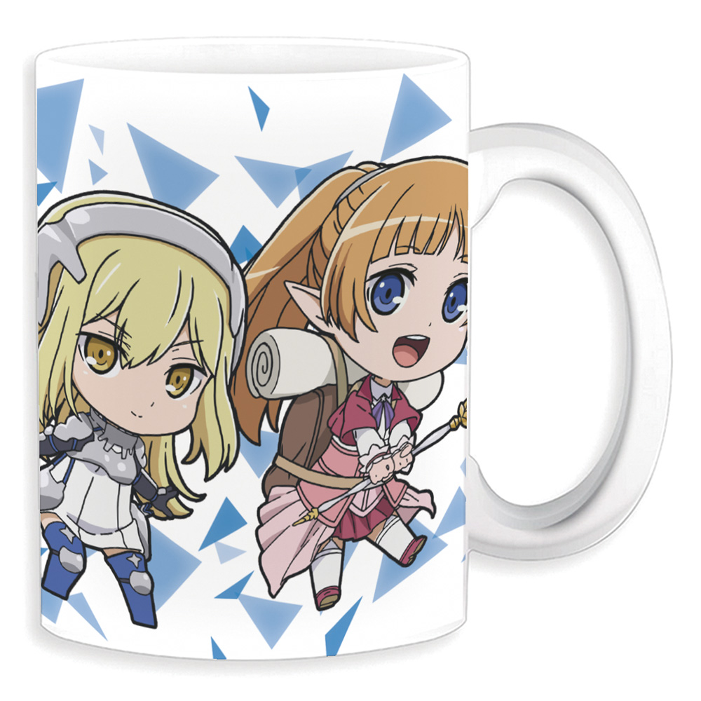 mug azu_maker aiz_wallenstein petit_colle! dungeon_ni_deai_o_motomeru_no_wa_machigatteiru_darou_ka_gaiden:_sword_oratoria lefiya_viridis tiona_hiryute tione_hiryute