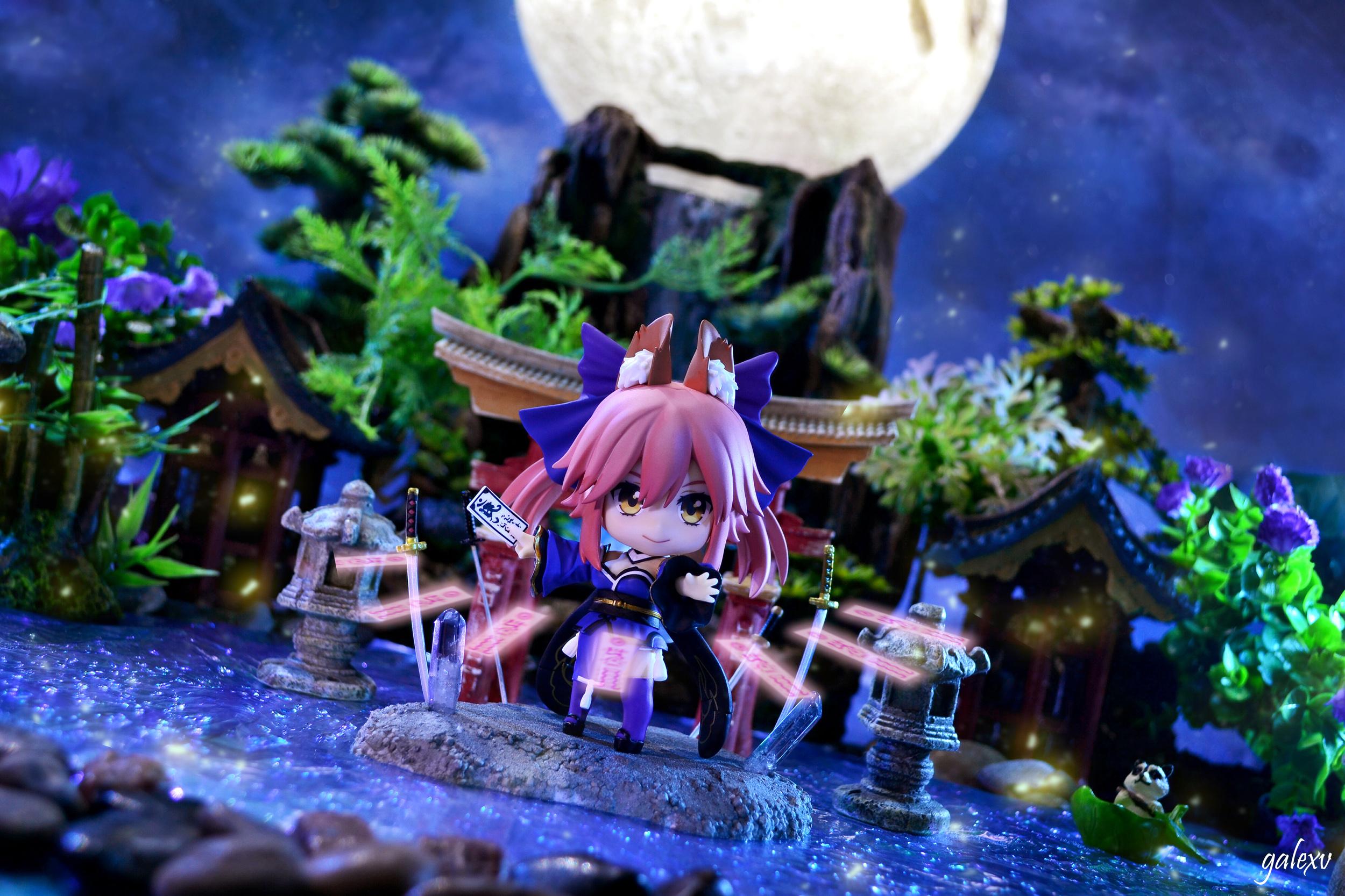 nendoroid type_moon good_smile_company nendoron fate/extra caster_extra iguchi_shinya marvelous_inc.