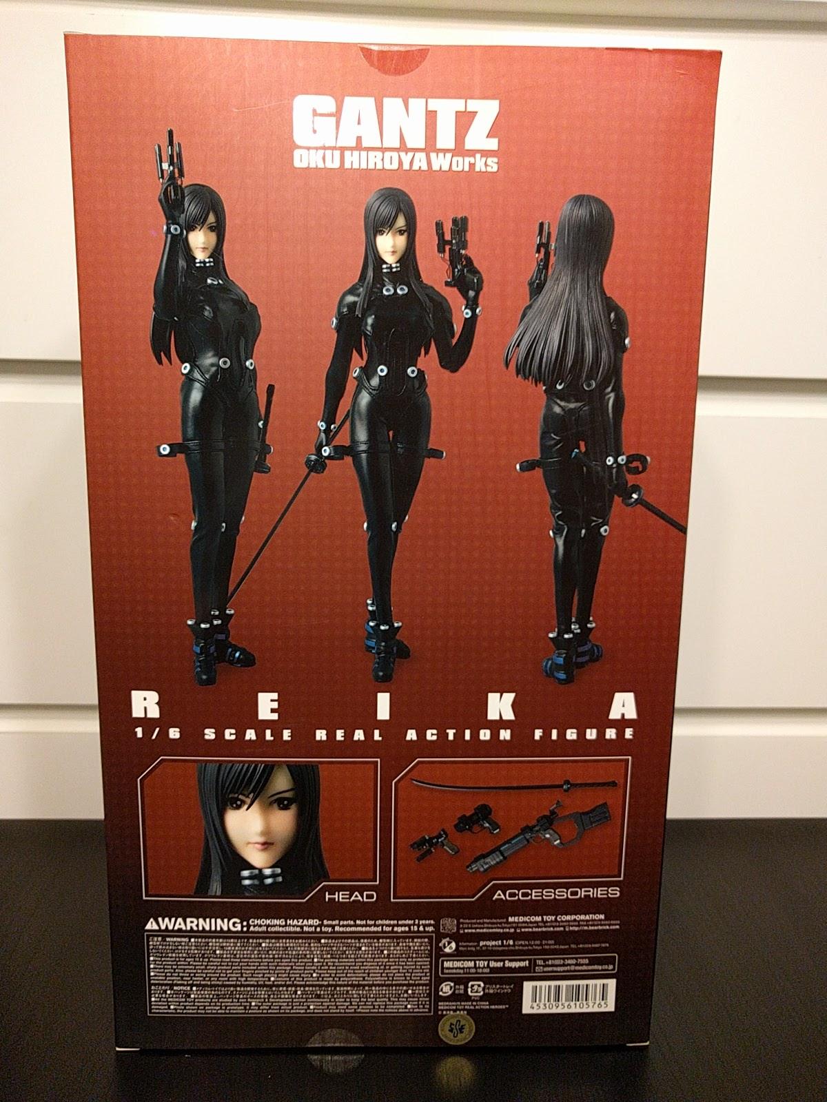 gantz medicom_toy shimohira_reika koguma_shimon real_action_heroes
