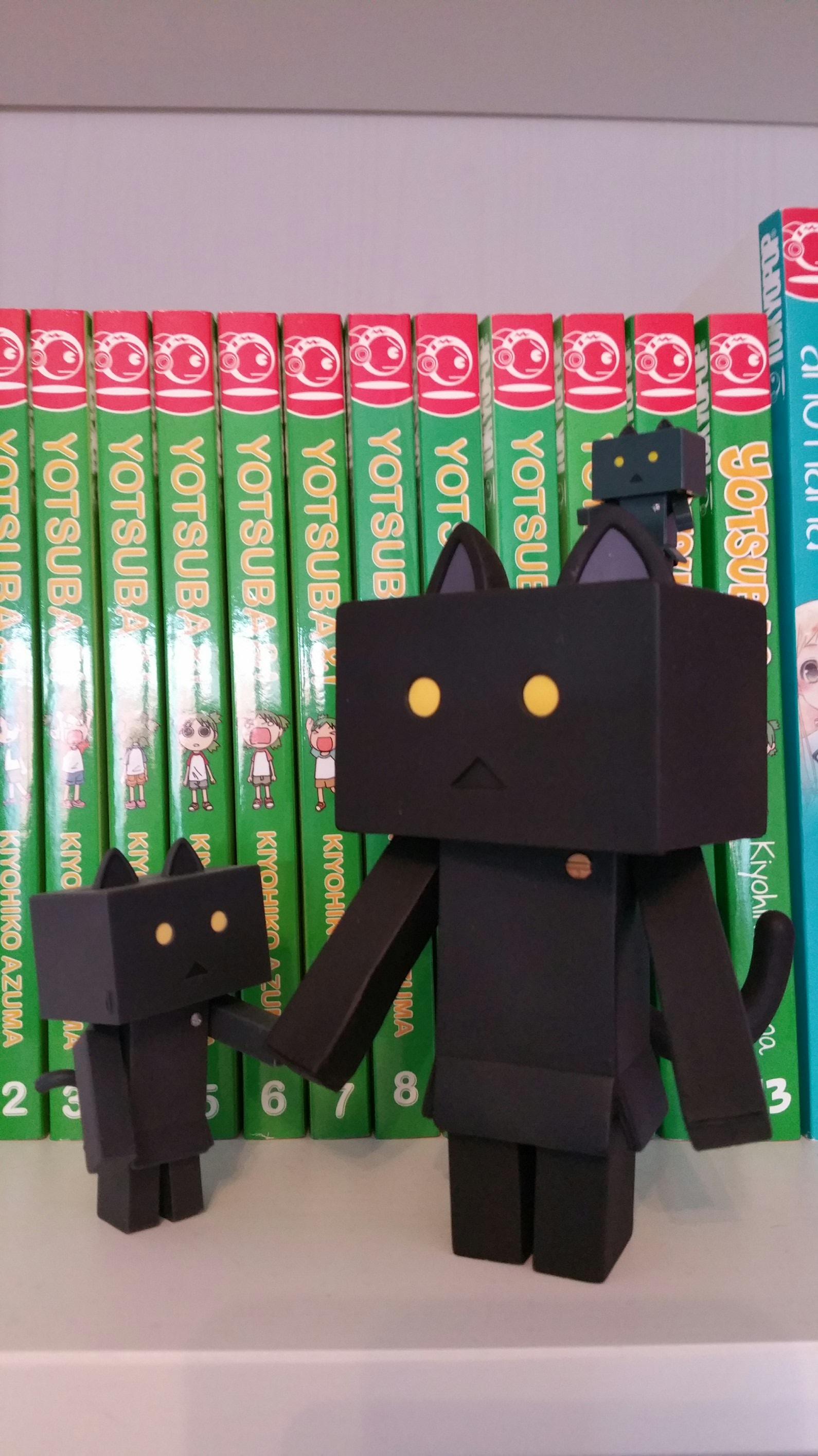 """kotobukiya danboard sentinel azuma_kiyohiko yotsuba&! tsuchiya_tomomi nyanboard_figure_collection danboard_nano_""""jelly_beans"""""""