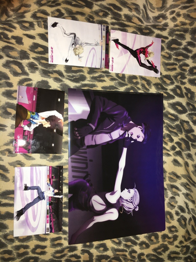 clear_file bromide avex_pictures yuri!!!_on_ice yuri_plisetsky otabek_altin yuri!!!_on_museum