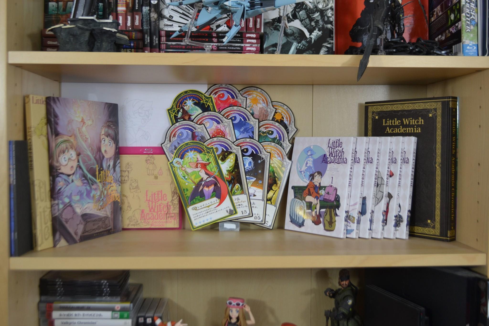 trigger toho kadokawa yoshinari_you fan_book blu-ray hikasa_youko orikasa_fumiko anime_official_guide_book little_witch_academia han_megumi hard_cover handa_shuuhei murase_michiyo