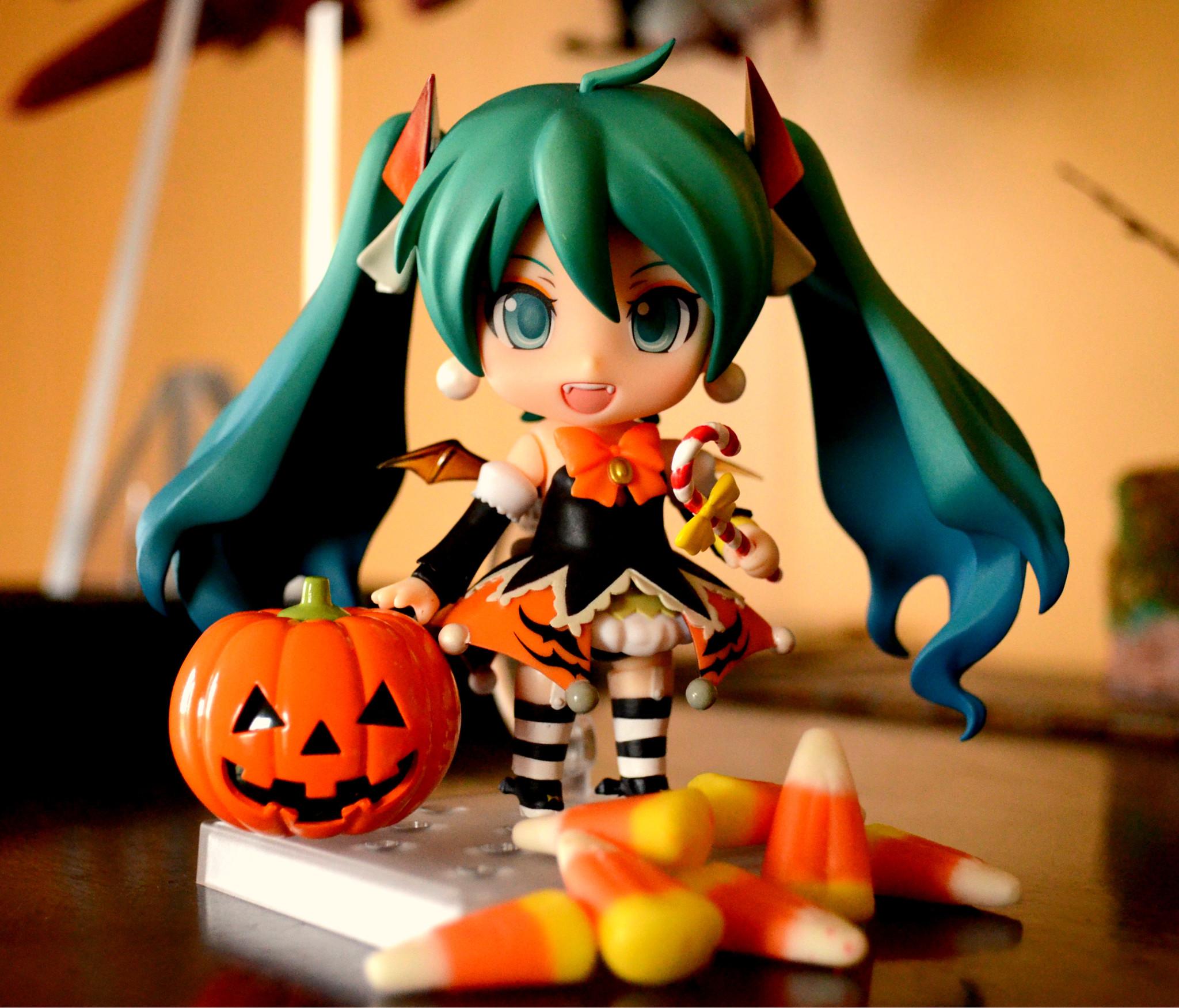 halloween nendoroid hatsune_miku