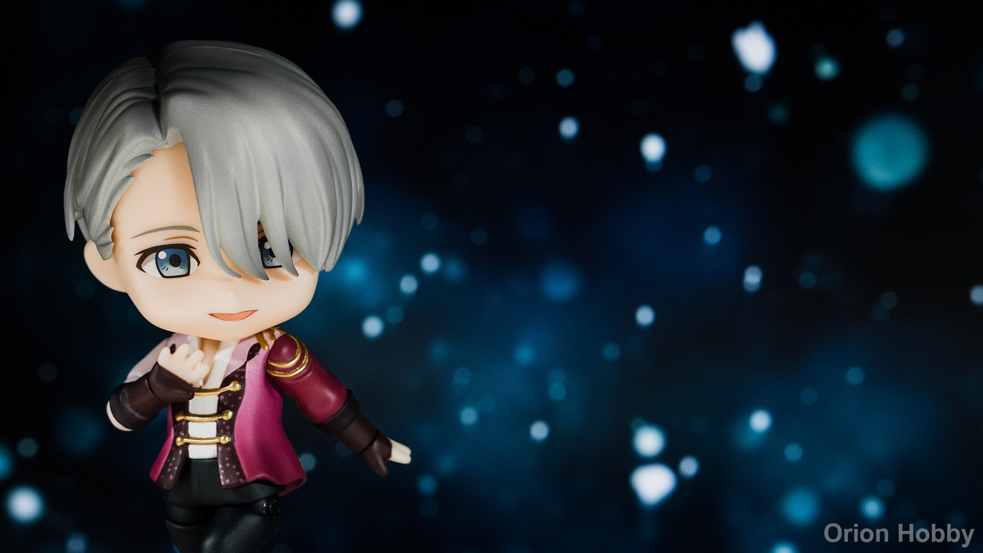 nendoroid nendoron shichibee orange_rouge makkachin yuri!!!_on_ice victor_nikiforov