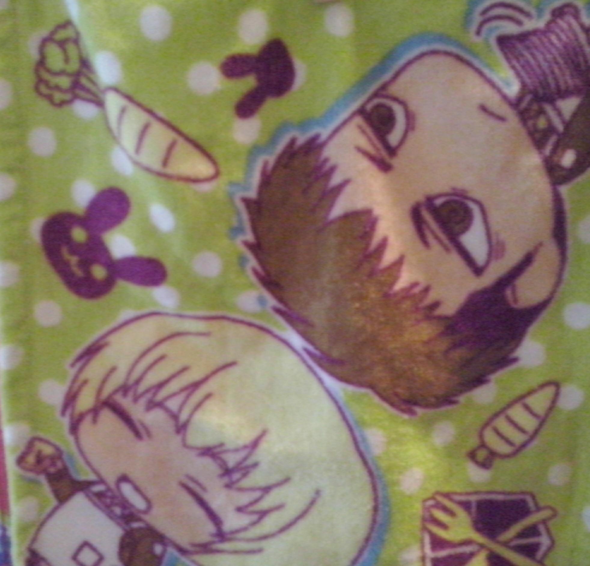 banpresto chimi ichiban_kuji mini_towel kodansha chimi_chara shingeki_no_kyojin isayama_hajime jean_kirstein armin_arlert ichiban_kuji_shingeki_no_kyojin_~_tobe!_chousa_heidan!!_~