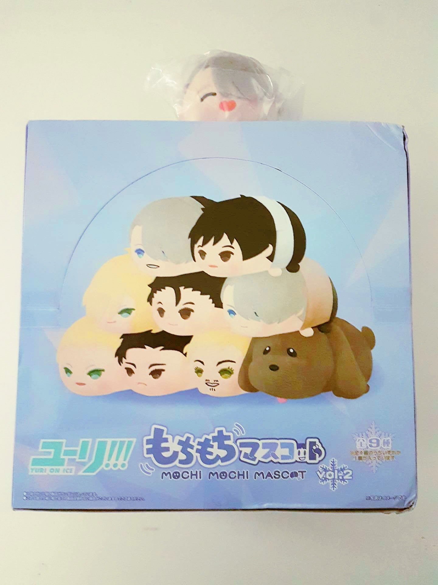 sk_japan mochi_mochi_mascot mappa makkachin yuri!!!_on_ice katsuki_yuuri yuri_plisetsky otabek_altin christophe_giacometti victor_nikiforov yuri!!!_on_ice_mochi_mochi_mascot_vol.2