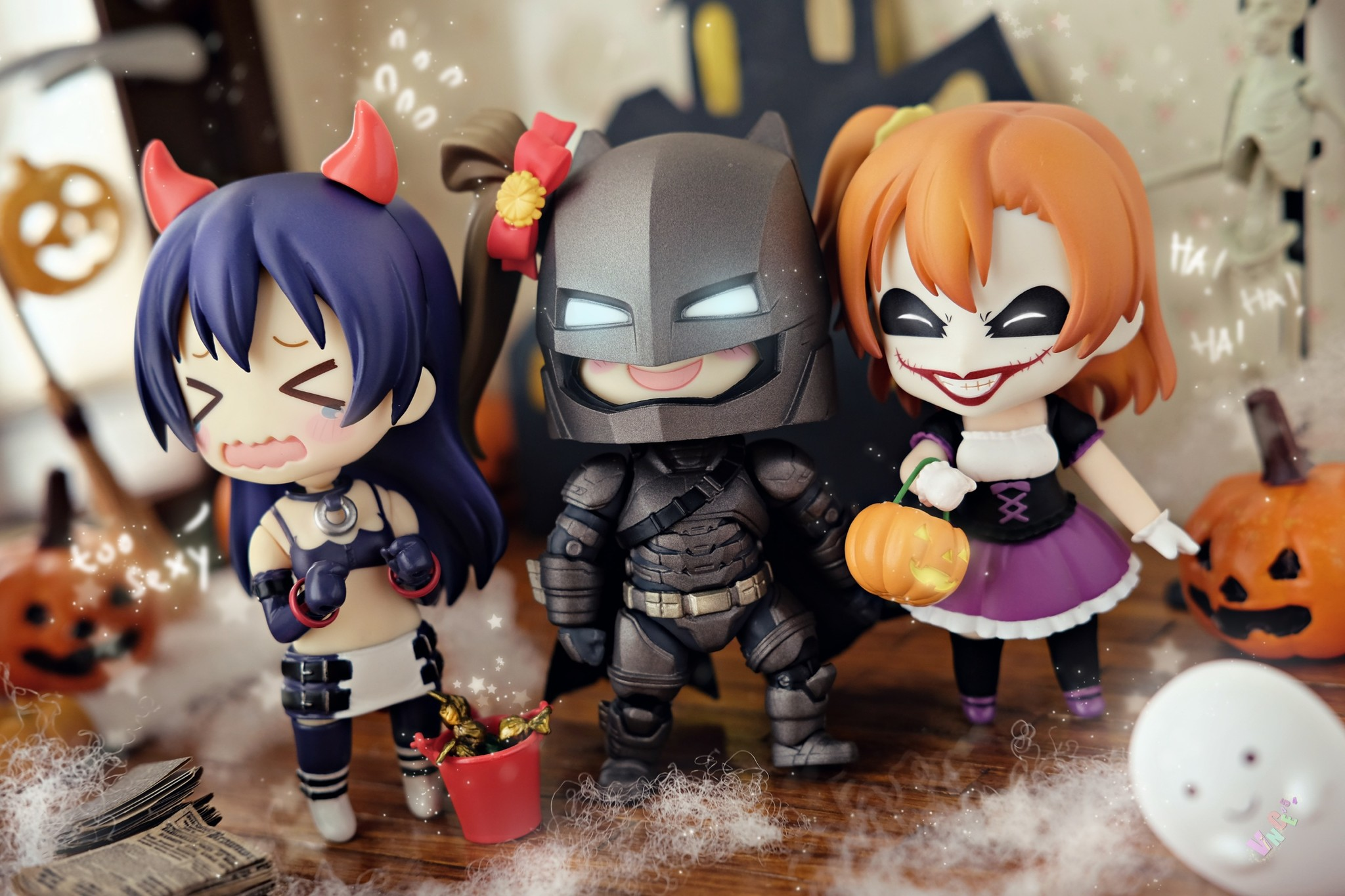 nendoroid uplark good_smile_company etna batman joker the_dark_knight phat_company nendoron jun_(e.v.) makai_senki_disgaea nippon_ichi_software me-n itandi love_live!_school_idol_project k2b ehenmushi kousaka_honoka sonoda_umi minami_kotori shichibee iguchi_shinya batman_v_superman:_dawn_of_justice