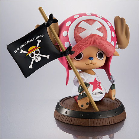 "megahouse one_piece excellent_model tony_tony_chopper portrait_of_pirates_""sailing_again"" tokyo_comic_con_2017"