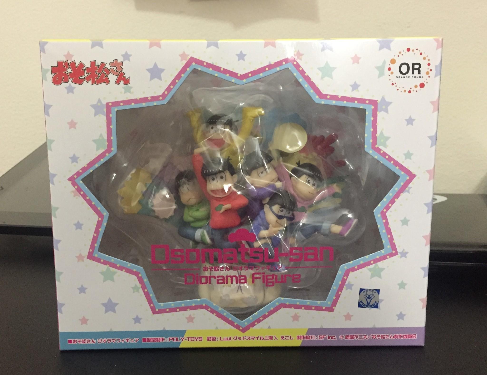 poly-toys orange_rouge osomatsu-san matsuno_todomatsu matsuno_ichimatsu matsuno_karamatsu matsuno_osomatsu matsuno_choromatsu akatsuka_fujio matsuno_jyushimatsu luu ekoshi