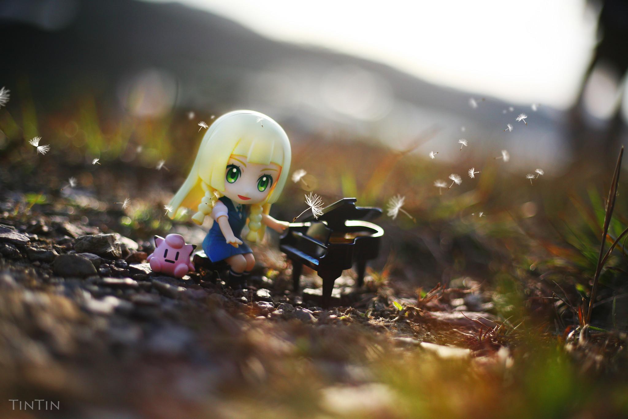 nintendo nendoroid good_smile_company nendoron game_freak shichibee creatures_inc. lilie pocket_monsters_sun pocket_monsters_moon cosmog