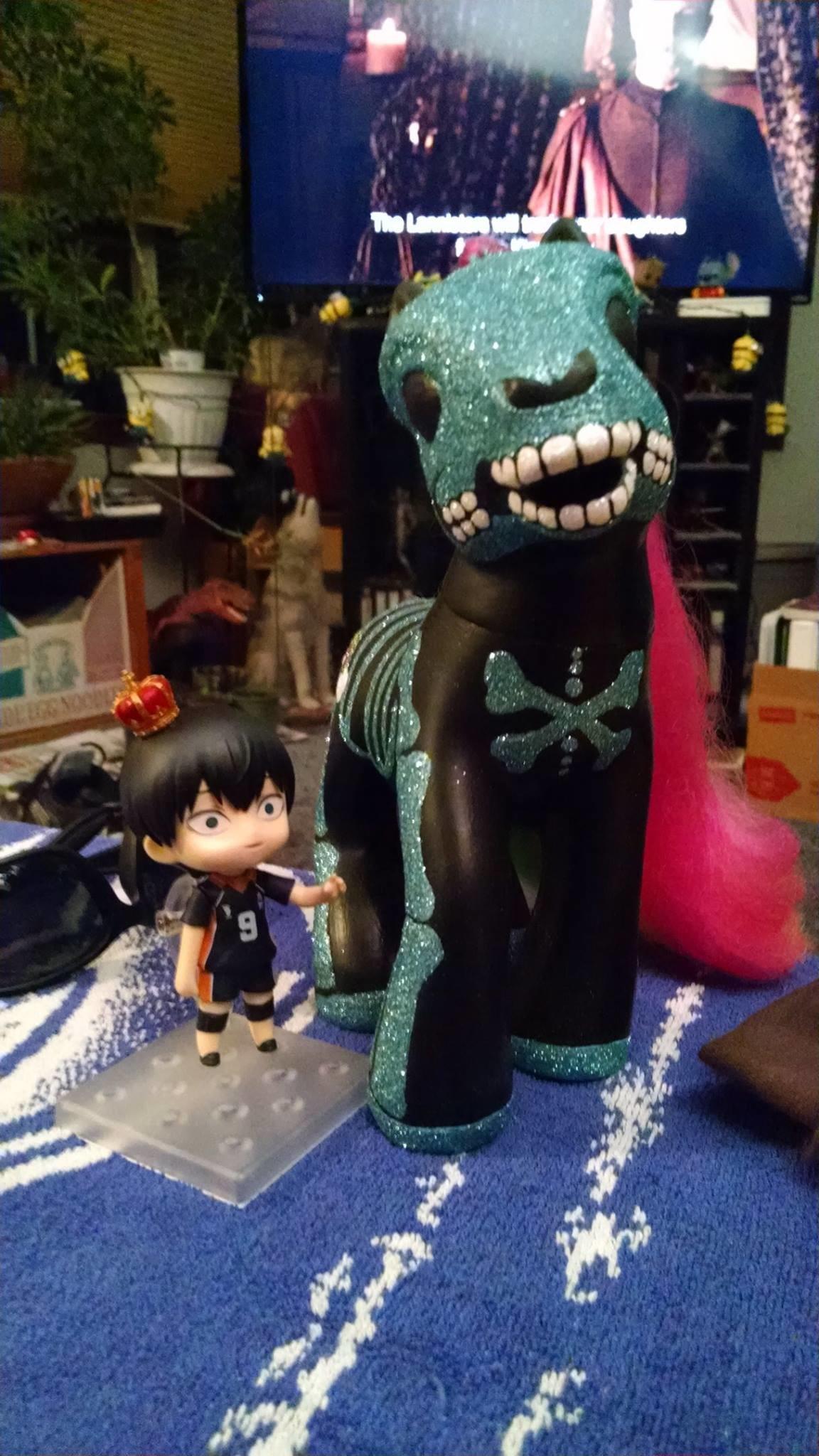 nendoroid good_smile_company shueisha nendoron shichibee haikyuu!! furudate_haruichi kageyama_tobio
